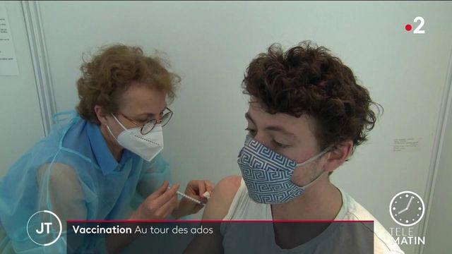 Vaccination contre le Covid-19 : la campagne s'ouvre aux 12-17 ans
