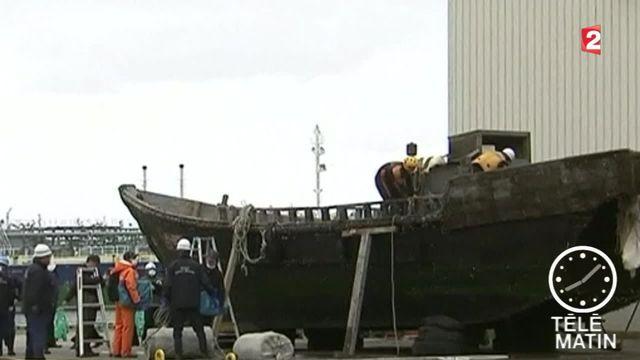 Une douzaine d'embarcations ont été localisées au large de l'archipel. Il pourrait s'agir de bateaux de pêcheurs nord-coréens perdus en mer.