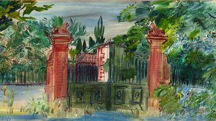 """""""Les ateliers de Perpignan"""", exposition Raoul Dufy au musée Rigaud de Perpignan du 23 juin au 4 novembre 2018  (Musée Hyacinthe Rigaud )"""