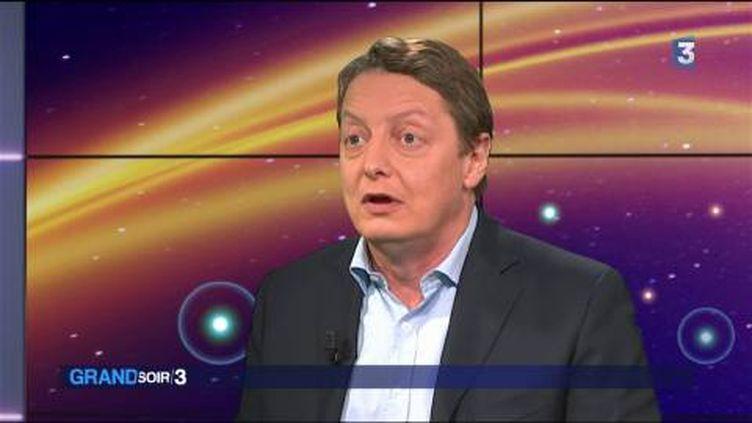 Michel Eltchaninoff, rédacteur en chef adjoint dePhilosophie Magazine. (FRANCE 3)