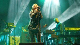 Beth Gibbons, la chanteuse de Portishead, sur la scène de Beauregard.  (Claire Digiacomi)