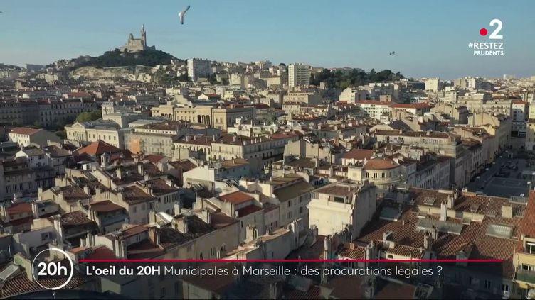 Municipales : à Marseille, des militants LR proposent des procurations sans passer par le commissariat (FRANCE 2)