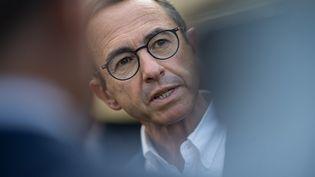 Bruno Retailleau presse son parti de fixer au plus vite les règles du jeu. (LOIC VENANCE / AFP)
