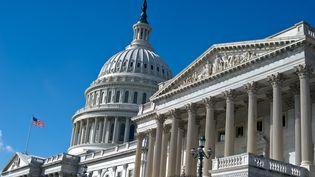 Le congrès américain à Washington qui a voté dès 1989 une loi de protection des lanceurs d'alerte (NICHOLAS KAMM / AFP)