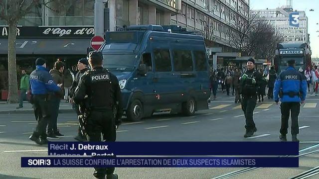 Alerte terroriste à Genève : deux syriens interpellés