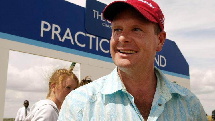 Le footballeur PaulGascoigne, le 20 juillet 2003 à Sandwich (Royaume-Uni). (ADRIAN DENNIS / AFP)
