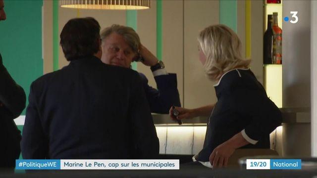 Rassemblement national : Marine Le Pen s'engage dans la bataille des municipales