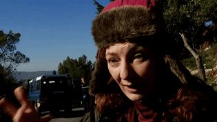 Corinne Masierosur le tournage du film de Josée Dayan  (France3/culturebox)