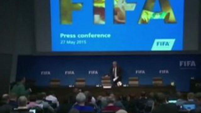 Des hauts responsables de la Fifa interpellés