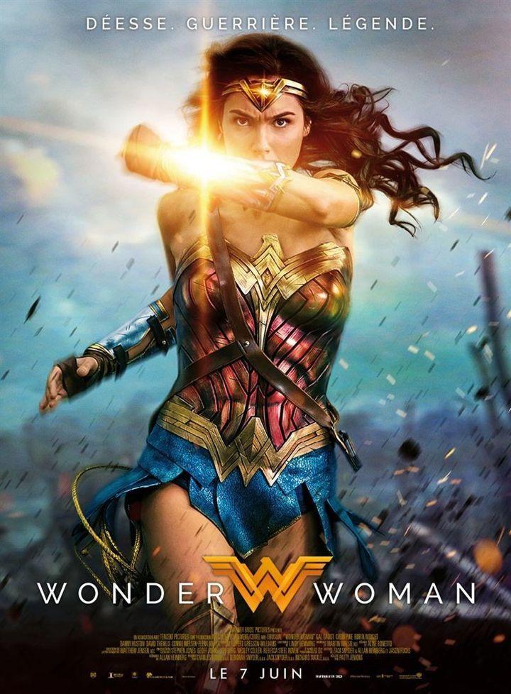"""""""Wonder Woman"""" l'affiche française  (Warner Bros. France)"""