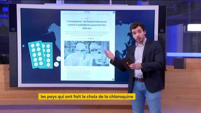 Coronavirus : les pays qui ont fait le choix de la chloroquine