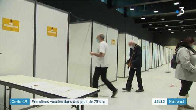 Covid-19 : la vaccination des plus de 75 ans a commencé à Nancy