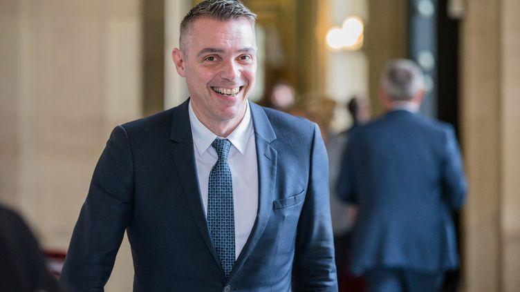 Le député LREM du Vaucluse Jean-François Césarini, le 12 juillet 2018 à l'Assemblée nationale. (AURELIEN MORISSARD / MAXPPP)