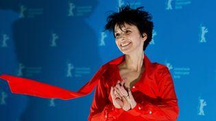 """L'actrice française Juliette Binoche lors de la première du film """"Camille Claudel 1915"""", en compétition lors du festival de cinéma de Berlin en 2013.  (Johannes EISELE / AFP)"""