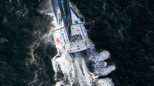 Le skipper français Armel Le Cleac'h (Banque Populaire VIII) (VINCENT CURUTCHET / VINCENT CURUTCHET)