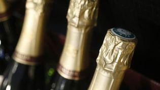 Les bouteilles de champagne, saisies en Bourgogne, contenaient de l'ecstasy liquide. ( AFP )