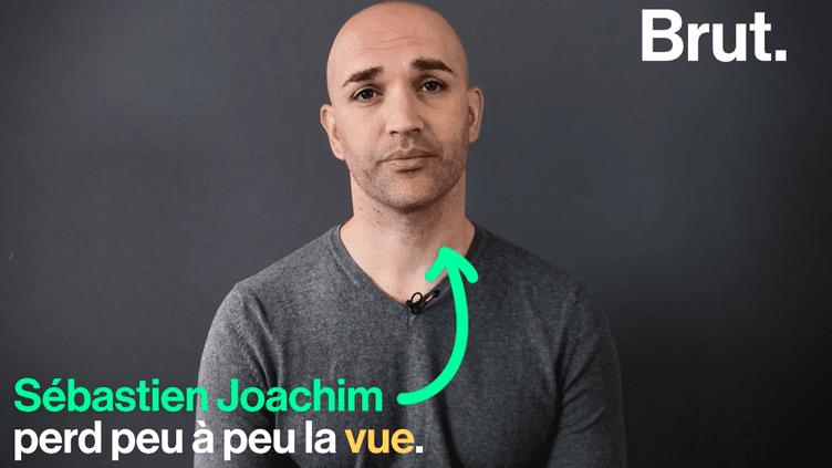 VIDEO - Bientôt aveugle, Sébastien Joachim se bat pour les personnes handicapées (BRUT)