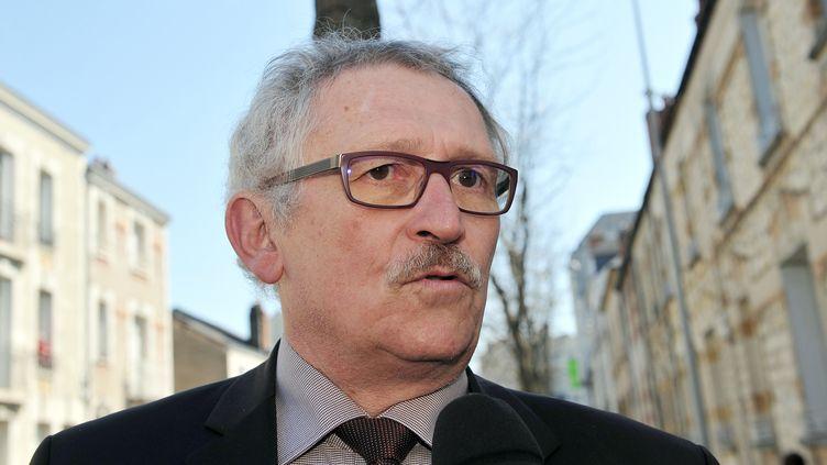 Le procureur de la République de Tours,Jean-Luc Beck, le 7 avril 2015. Photo d'illustration. (GUILLAUME SOUVANT / AFP)