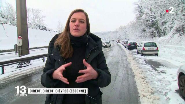 Intempéries en Ile-de-France : 900 voitures bloquées sur la N118
