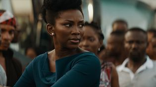 """La comédienne Genevieve Nnaji dans une scène du film """"Lionheart"""" qu'elle a a réalisé. Le premier film que le Nigeria ait jamais présenté aux Oscars dans la catégorie """"meilleur film international"""" a été retoqué par l'Académie. (TORONTO FILM FESTIVAL)"""