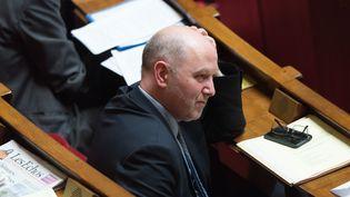 Le député de la 10e circonscription de Paris, Denis Baupin, le 17 février 2016 à l'Assemblée nationale. (SIPA)