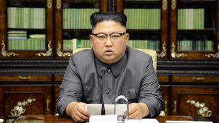 Kim Jong-Un, le 22 septembre 2017. (KCNA KCNA / REUTERS)