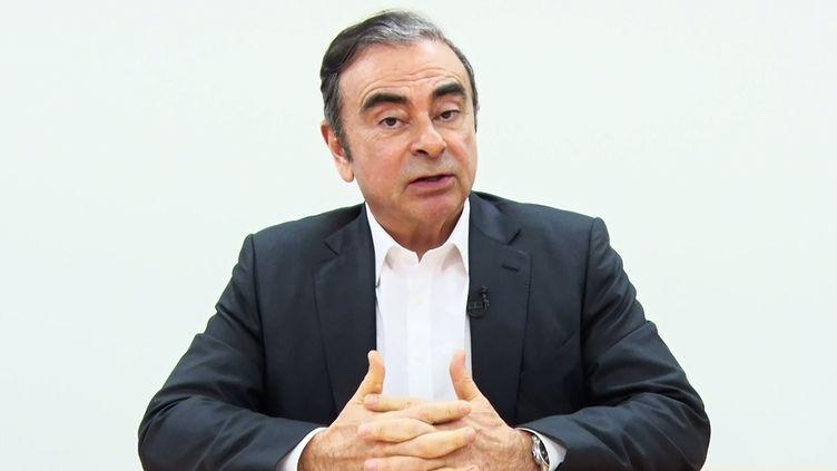 L'ex-PDG de Renault, Carlos Ghosn, le 9 avril 2019, au Japon. (REPRESENTATIVES FOR CARLOS GHOSN / AFP)