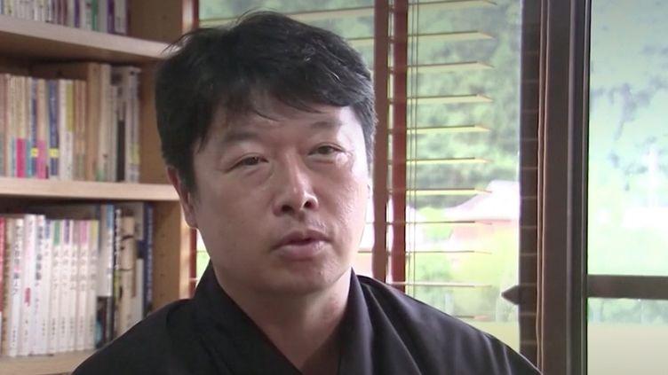 Ninja diplômé au Japon. (FRANCEINFO)