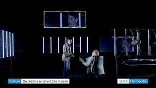 Radubôru, poupée d'amour - Texte et mise en scène d'Olivier Lopez - Tous les soirs en direct à 21h jusqu'au 14 novembre sur le site de la Comédie de Caen. (B; Goulet / France 3)