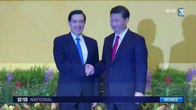 Chine-Taïwan : un rapprochement historique