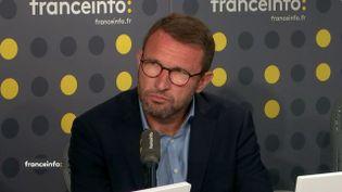David Le Bars,secrétaire général du Syndicat des commissaires de la police nationale. (FRANCEINFO / RADIOFRANCE)