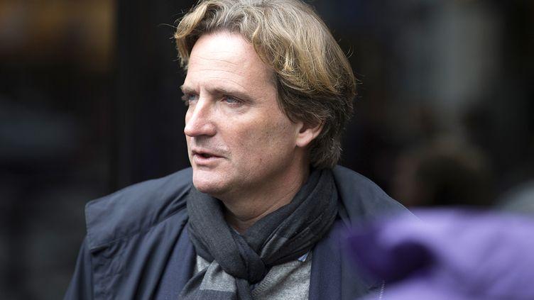 Charles Beigbeder, candidat dissident de la droite à la mairie de Paris, le 19 janvier 2014. (JOEL SAGET / AFP)