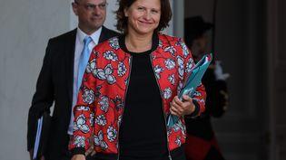 Roxana Maracineanu, le 21 août 2019, à Paris. (LUDOVIC MARIN / AFP)