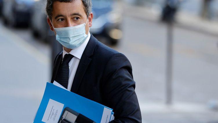 Le ministre de l'Intérieur, Gérald Darmanin, le 22 septembre 2020, à Paris. (LUDOVIC MARIN / AFP)
