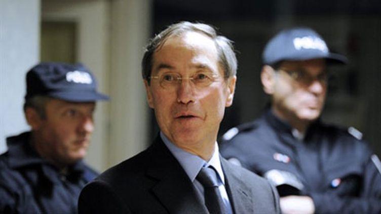 Claude Guéant, le 28 février 2011 à Chartres. (AFP - Lionel Bonaventure)