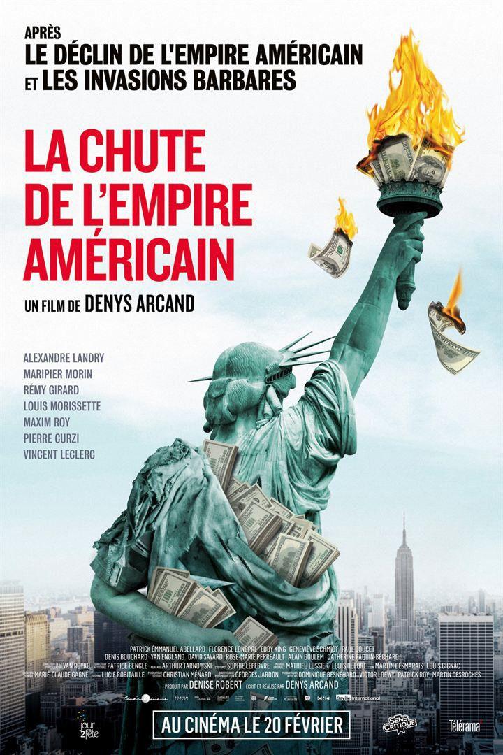 """""""La Chute de l'empire américain"""" : l'affiche  (Jour2fête)"""