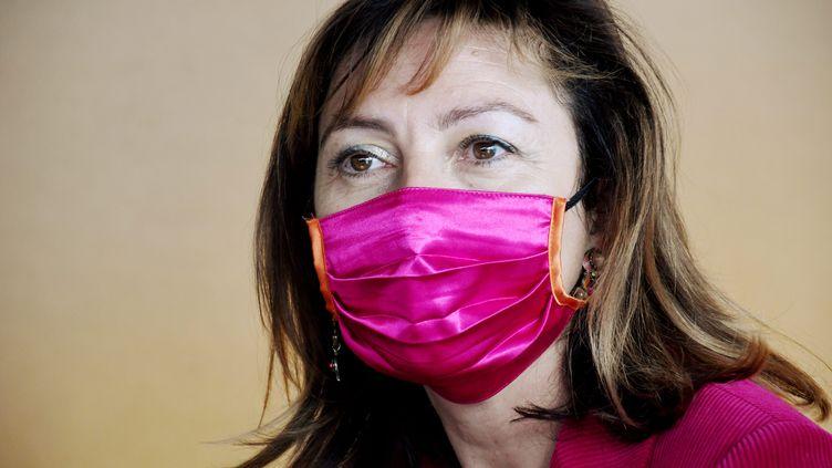 Carole Delga, présidente de la région Occitanie, le 7 janvier 2021. (BOYER CLAUDE / MAXPPP)
