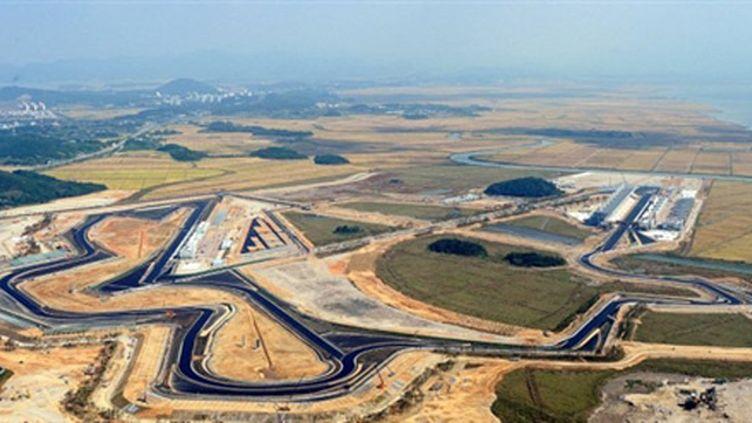 Le circuit Yeongham de Corée du Sud