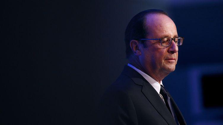 (François Hollande le 5 septembre 2014 au sommet de l'OTAN©MAXPPP)