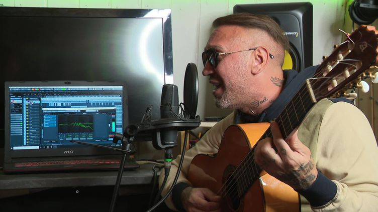 Le guitariste de jazz manouche El Ttit enregistre un nouvel album à Marseille (France 3 Provence-Alpes)