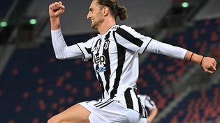 Adrien Rabiot a marqué face à Bologne. (ANDREAS SOLARO / AFP)
