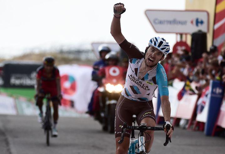 Pierre Latour (AG2R-La Mondiale) a crevé l'écran sur la Vuelta en s'imposant lors de la 20e étape
