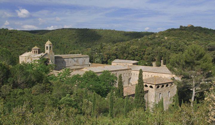L'Abbaye de Fontfroide, dans l'Aude.  (Amarante Puget/Vinalys)