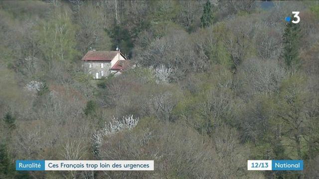 Creuse : ces communes rurales trop loin des services d'urgence