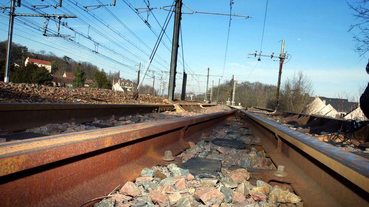 Un jeune homme a été percuté par un train en Gironde alors qu'il traversait les voies. Son corps, projeté, a percuté un autre homme, qui a été grièvement blessé. (JACK GUEZ / AFP)