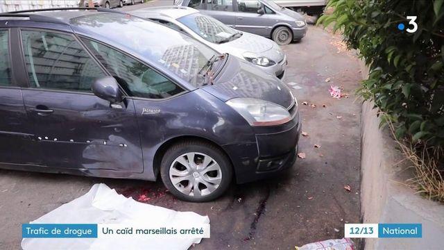 Trafic de drogue : en fuite depuis 2016, un caïd marseillais arrêté