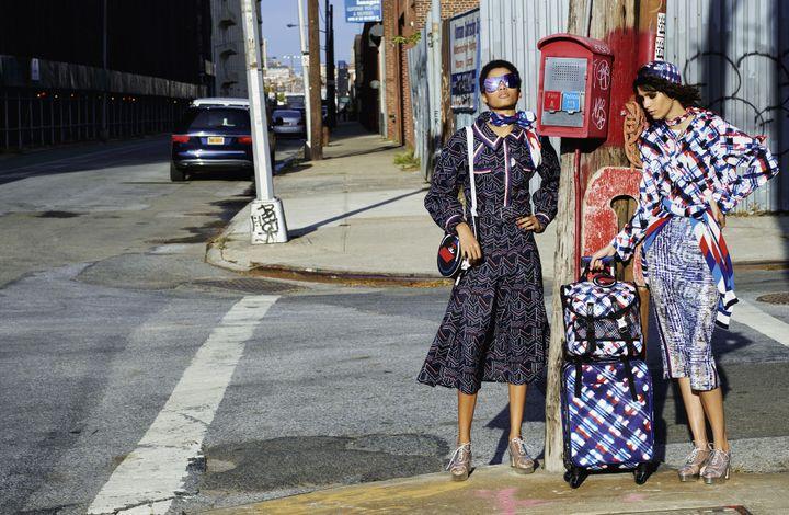 """Campagne Chanel prêt-à-porter printemps-été 2016 : photo extraite du livre """"Chanel. Les campagnes photographiques de Karl lagerfeld"""" de Patrick Mauriès. Editions de La Martinière  (Karl Lagerfeld/@Chanel)"""