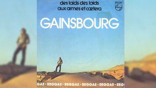 Le 45 tours de la Marseillaise reggae de Gainsbourg. (RADIO FRANCE)