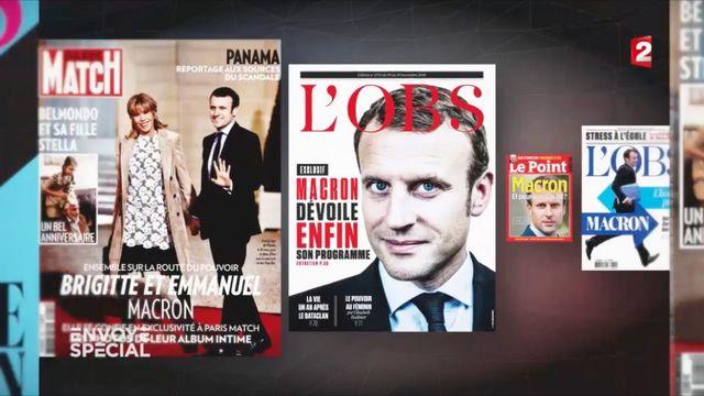 """Envoyé spécial. Macron sur les médias : """"Je fais vendre. Comme une lessive"""""""