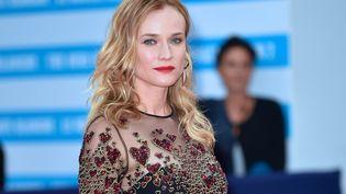 L'actrice allemande Diane Kruger lors du festival du cinéma américain de Deauville (Calvados), le 2 septembre 2016. (MAXPPP)